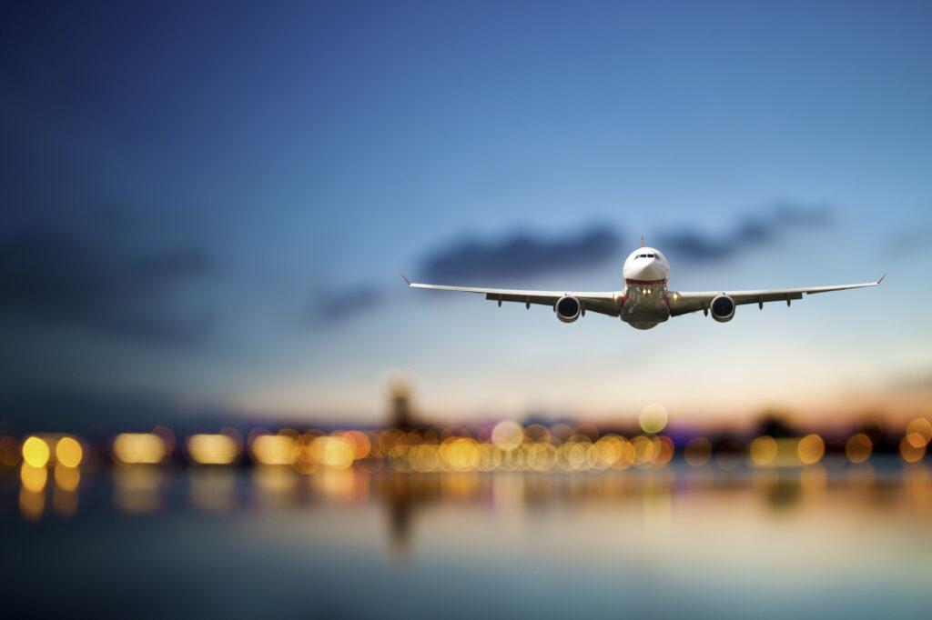 Fly der lander